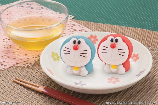 ドラえもんをモチーフとした和菓子「食べマス ドラえもん」本日発売